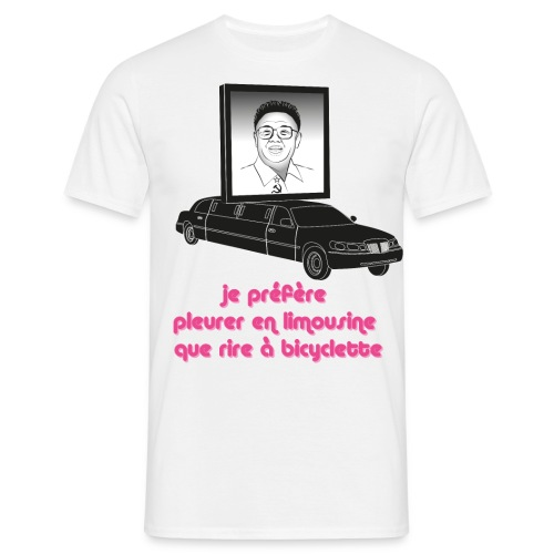 King Jong Il, ne sois pas triste - T-shirt Homme