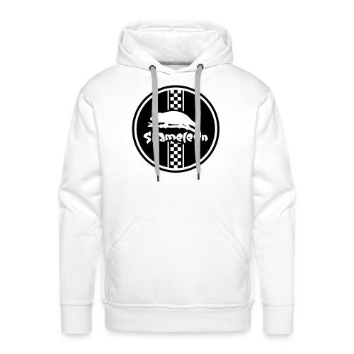 Logo Pullover weiß - Männer Premium Hoodie
