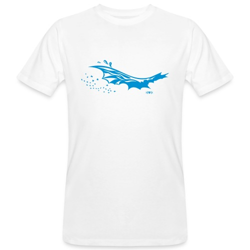 Welle 2 T-Shirt - Männer Bio-T-Shirt