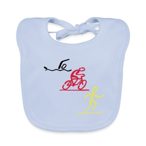 Triathlon Lätzchen - Baby Bio-Lätzchen