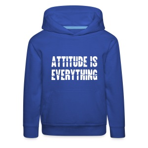 Attitude Is Everything - Kids' Premium Hoodie