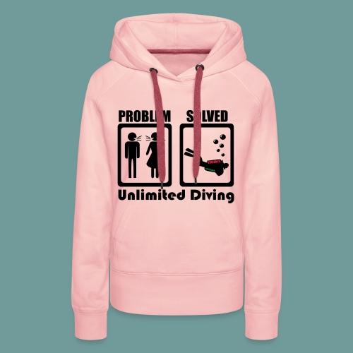 SPROB 01 - Sweat-shirt à capuche Premium pour femmes