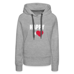 HAPPY IN LOVE - Frauen Premium Hoodie