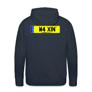 Hoodies & Sweatshirts ~ Men's Premium Hoodie ~ Detailing World WAXIN' Hooded Fleece Top