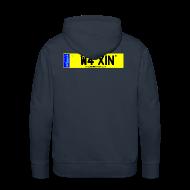 Hoodies & Sweatshirts ~ Men's Premium Hoodie ~ Detailing World WAXIN' Hooded Fleece Top