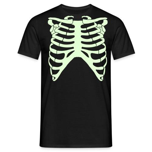 Skeleton glow in the dark t-shirt - Men's T-Shirt