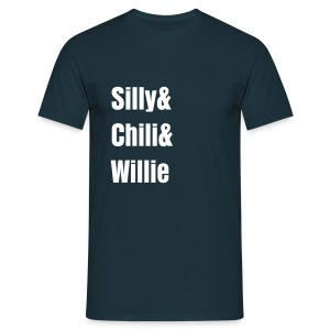 Silly Chili Willie - Men's T-Shirt