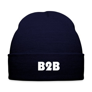 official Back 2 Back hat (blue) - Winter Hat