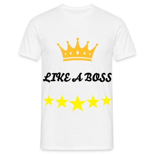 Like A Boss T-shirt (MAN) - Mannen T-shirt