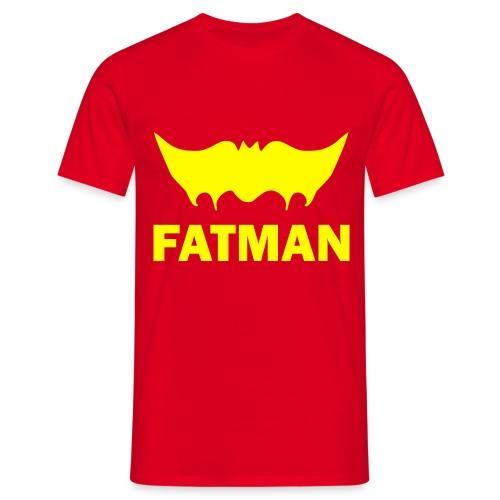 Funny T-shirt Fatman - Mannen T-shirt