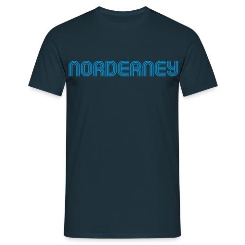 Norderney 70er Schrift T-Shirt - Männer T-Shirt