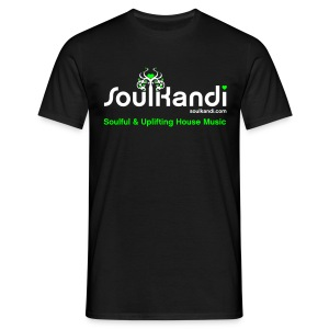 Choose Your Own Colour Tee Shirt (White & Green Logo) - For Dark Coloured Tee's (Click Details For Options) - Men's T-Shirt