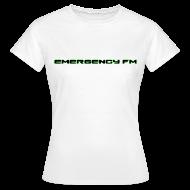 T-Shirts ~ Women's T-Shirt ~ EmergencyFM Text Logo T-Shirt