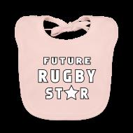 Baby Bibs ~ Baby Organic Bib ~ Future Rugby Star