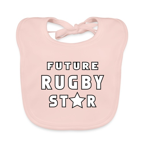 Future Rugby Star - Baby Organic Bib