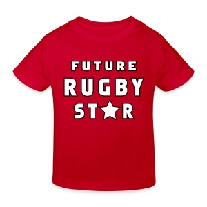 Future Rugby Star - Kids' Organic T-shirt