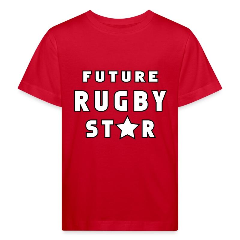 Future Rugby Star - Kids' Organic T-shirt