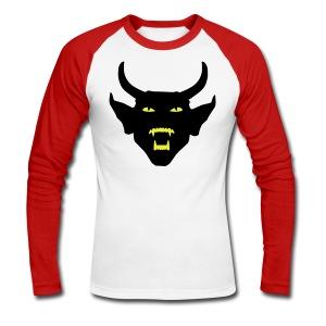 Devil - Longshirt - Männer Baseballshirt langarm