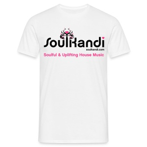 Choose Your Own Colour Tee Shirt (Black & Pink Logo) - For Light Coloured Tee's (Click Details For Options) - Men's T-Shirt