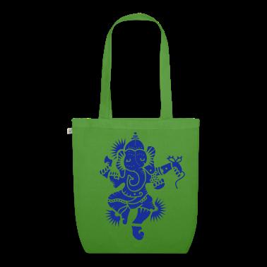 The elephant god Ganesha Bags