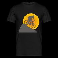T-Shirts ~ Men's T-Shirt ~ Downhill Sunset