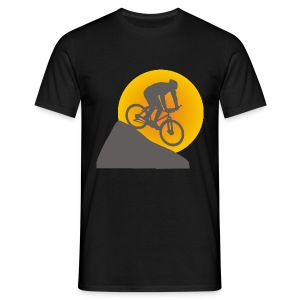 Downhill Sunset - Men's T-Shirt