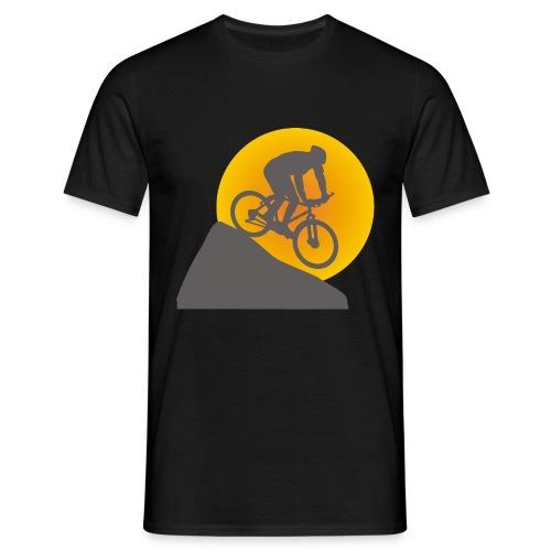 Downhill Sunset - Men's T-Shirt