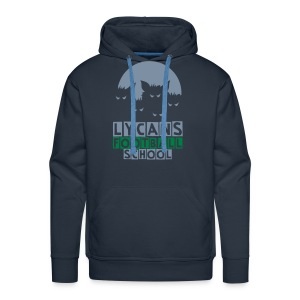 LYCANS FOOTBALL School - Sweat-shirt à capuche Premium pour hommes