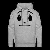 Hoodies & Sweatshirts ~ Men's Premium Hoodie ~ Funky star face!!!!  by kidd81.com
