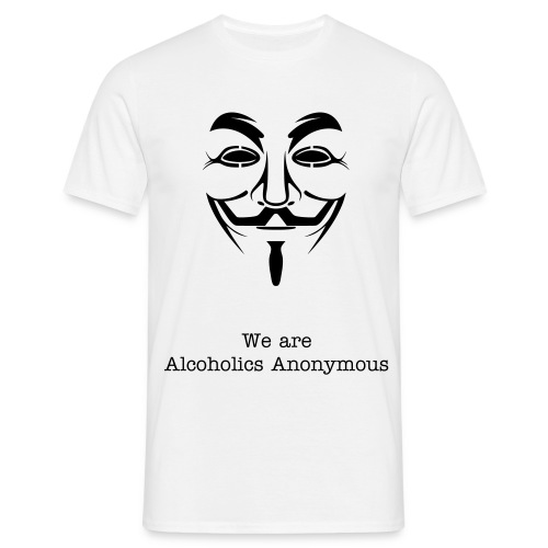 Alcoholics Anonymous - T-shirt Homme