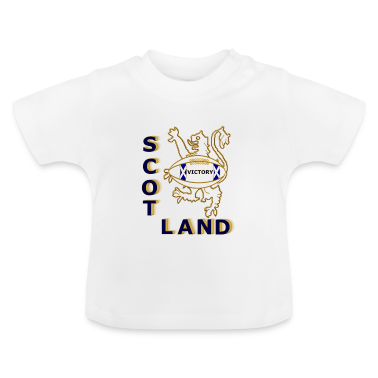 scotland victory rugby  Baby Shirts