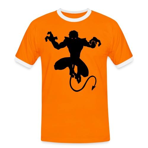 Creature of the Night - Männer Kontrast-T-Shirt