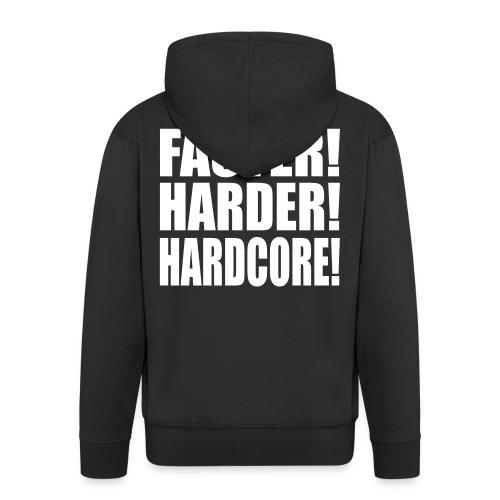 Veste HARDCORE HC01 - Veste à capuche Premium Homme