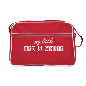 My little RED & WHITE - Retro-tas