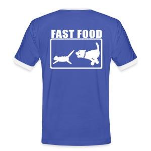 Fast Food - Mannen contrastshirt
