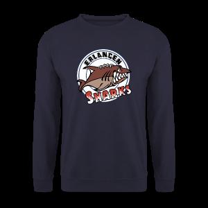 Logo auf navy Pullover (m) - Männer Pullover