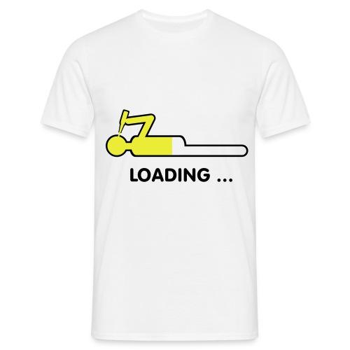 Bier ... loading - Männer T-Shirt