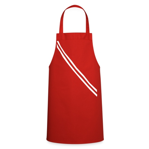 Grill- und Kochschürze Band Rot-Weiß - Kochschürze