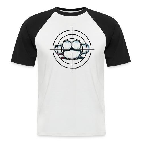 SNIPER Rag schwarz - Männer Baseball-T-Shirt