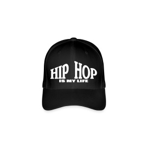 Casquette hip hop is my life - Casquette Flexfit