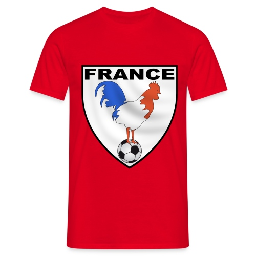 t-shirt écusson football design - Men's T-Shirt