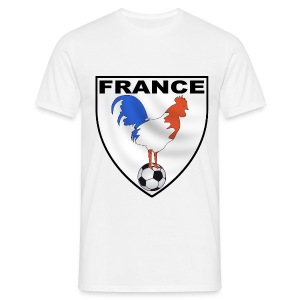 t-shirt écusson football design - Men's T-Shirt