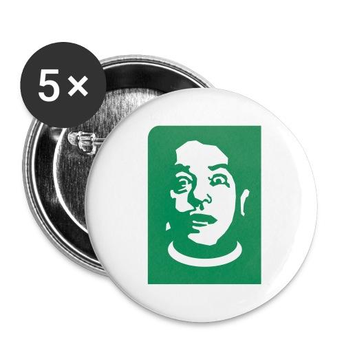 5 grandi spille Bombolo - Confezione da 5 spille grandi (56 mm)