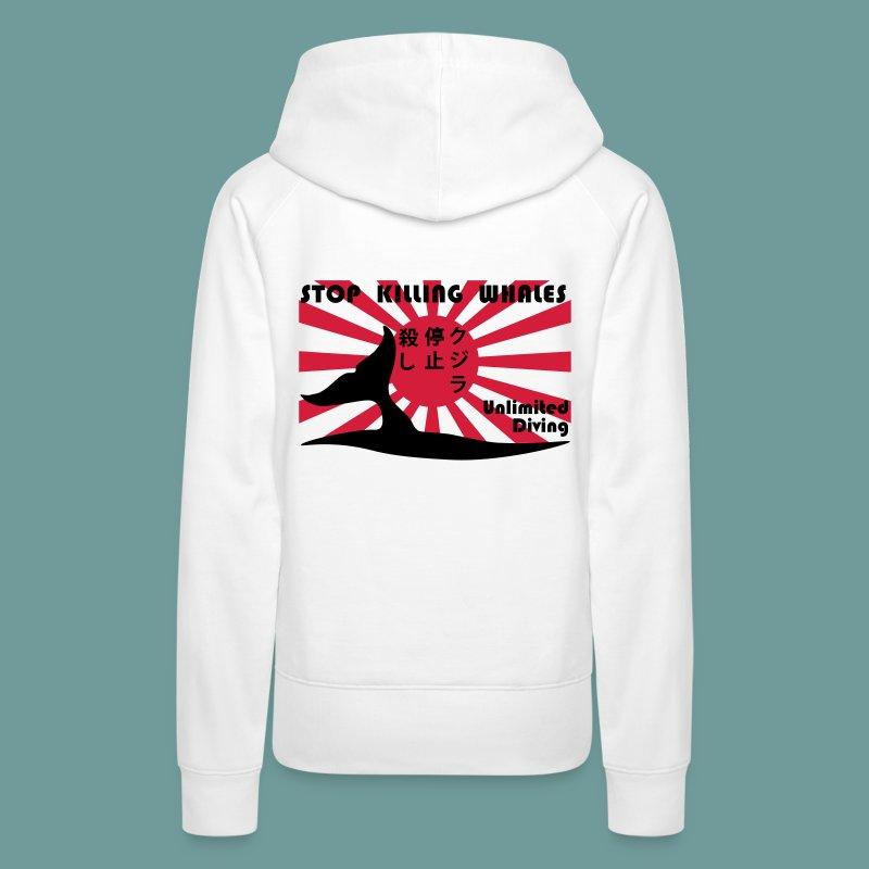 SSFSKW 01 - Sweat-shirt à capuche Premium pour femmes