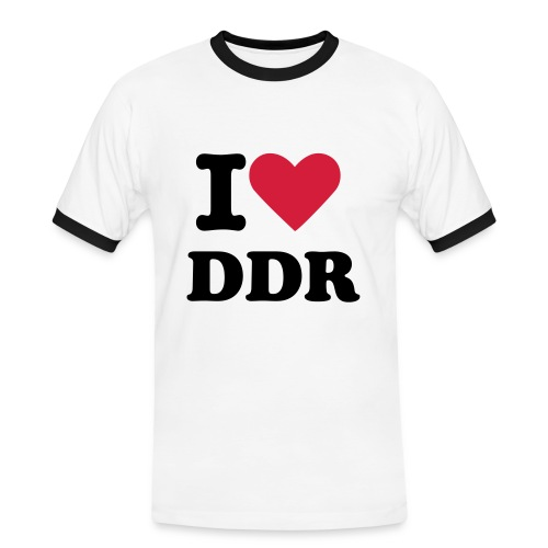 I LOVE DDR - Men's Ringer Shirt