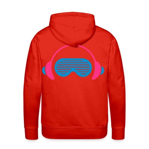 DJ WHOÖ Principal Product. - Sudadera con capucha premium para hombre