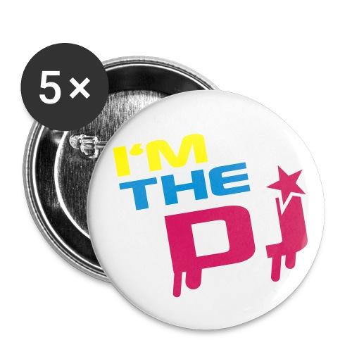 Xapes I'm the Dj. - Paquete de 5 chapas medianas (32 mm)