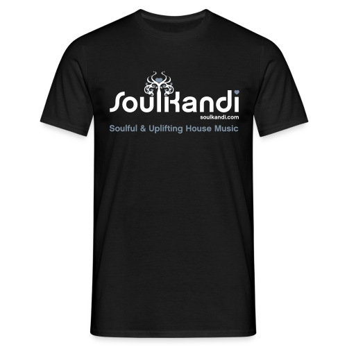Choose Your Own Colour Tee Shirt (White & Grey Logo) - For Dark Coloured Tee's (Click Details For Options) - Men's T-Shirt