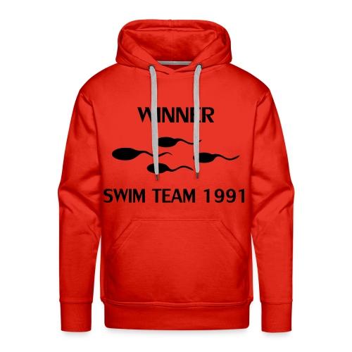 Winner Swim Team 1991 - Men's Premium Hoodie