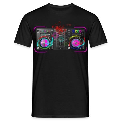 DJ Mischpult - Männer T-Shirt